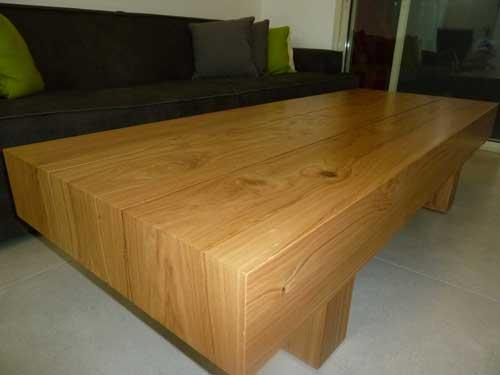 שולחן לסלון במבט מקרוב